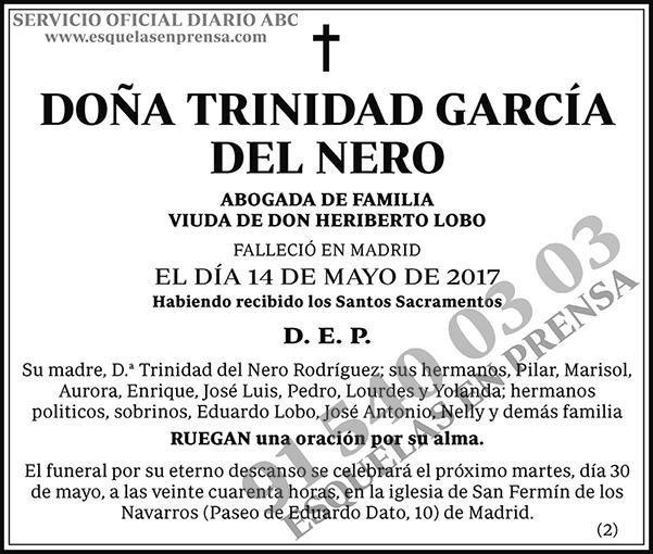 Trinidad García del Nero